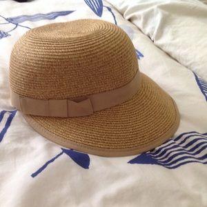 NWT Nordstrom August company Javits sun beach hat